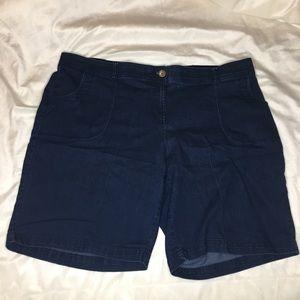 Studio Works 20W Dark Wash Shorts